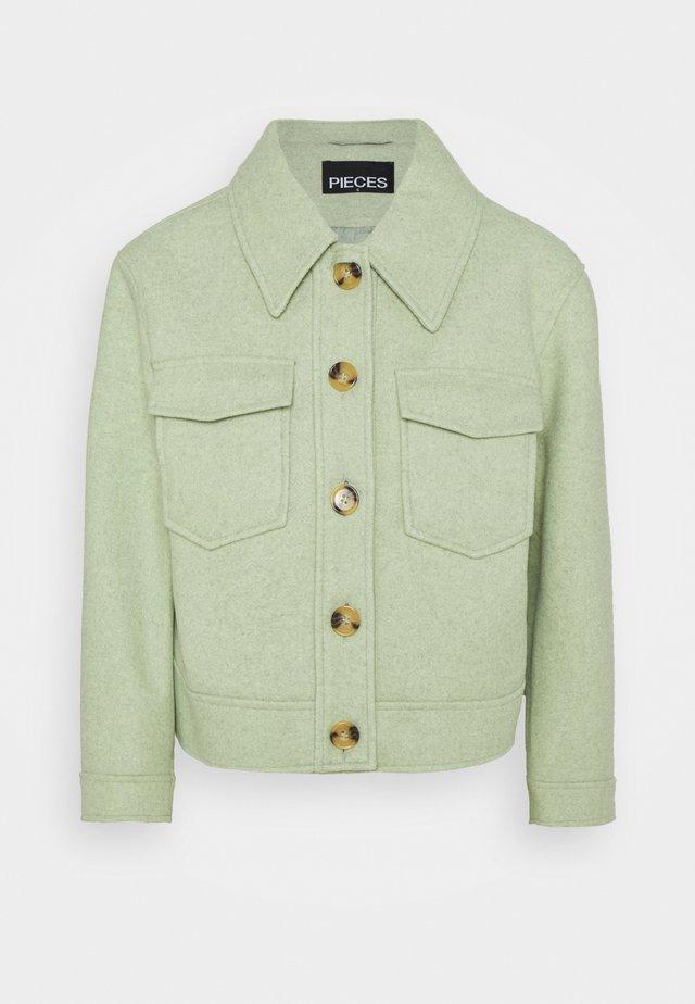 Summer jacket - desert sage/melange