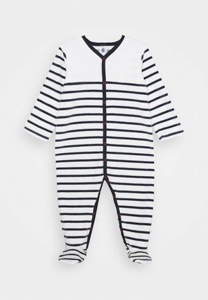 DORS BIEN VET - Pyjamas - white/dark blue