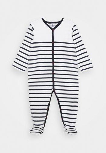DORS BIEN VET - Pijama - white/dark blue