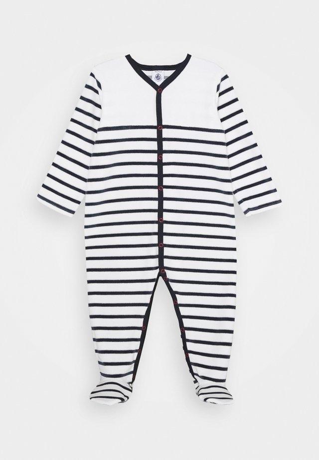 DORS BIEN VET - Pyjama - white/dark blue