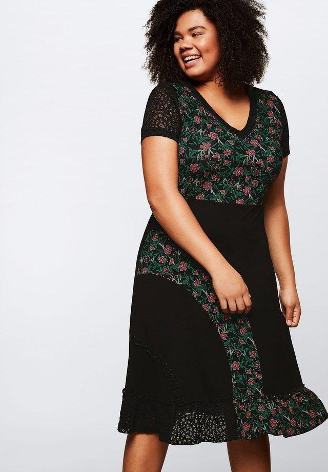 BY JOE BROWNS - Day dress - schwarz bedruckt
