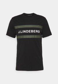 SILO LOGO - Print T-shirt - black