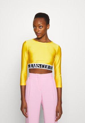 Langarmshirt - yellow