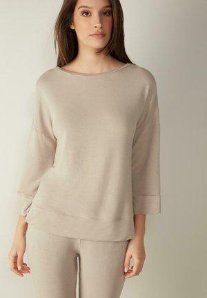 Sweatshirt - dust beige