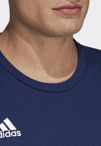 adidas Performance - TIRO 19 AEROREADY CLIMALITE - T-shirt med print - blue - 3