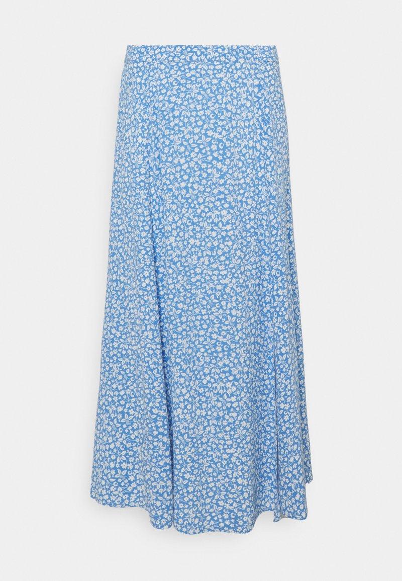 Forever New - ELLIE SPLIT SKIRT - A-line skirt - blue