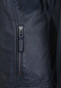 7eleven - ANJA - Leather jacket - navy - 3