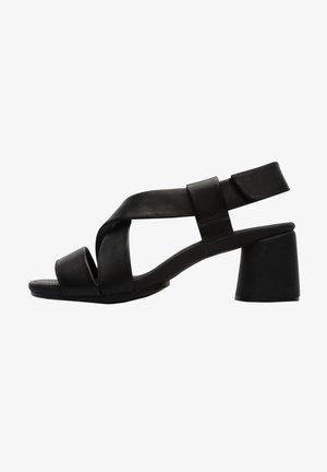 Zapatos de plataforma - schwarz
