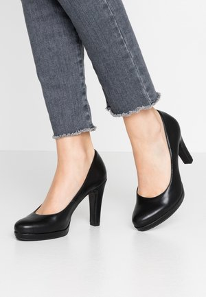 DA.-PUMPS - Zapatos altos - black matt