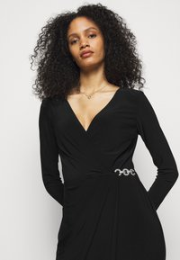 Lauren Ralph Lauren - CLASSIC DRESS - Jerseyjurk - black - 3
