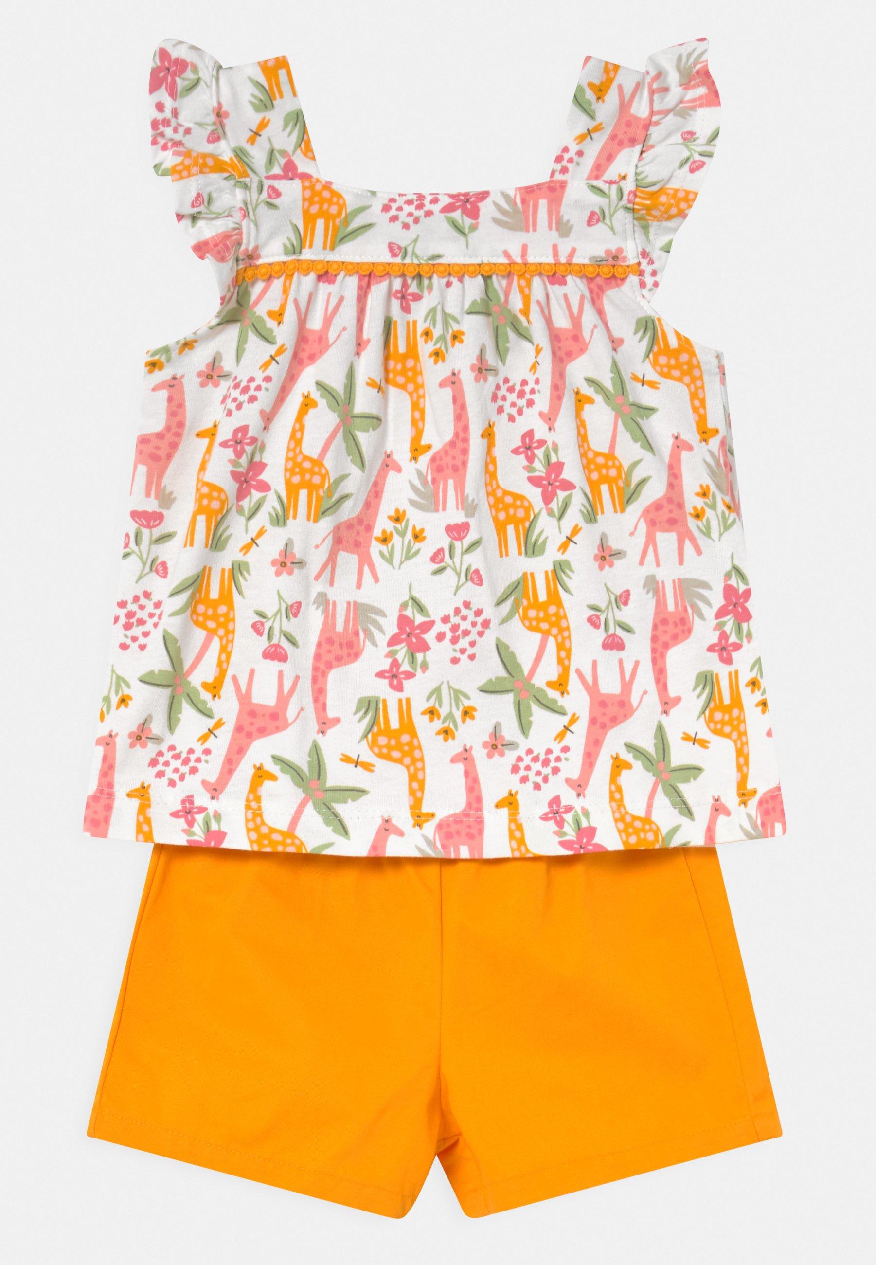 Kids 2-Piece Animal Jersey Tee & Short Set - Shorts