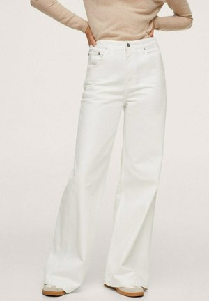 Flared Jeans - offwhite