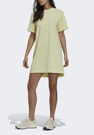 Jersey dress - haze yellow