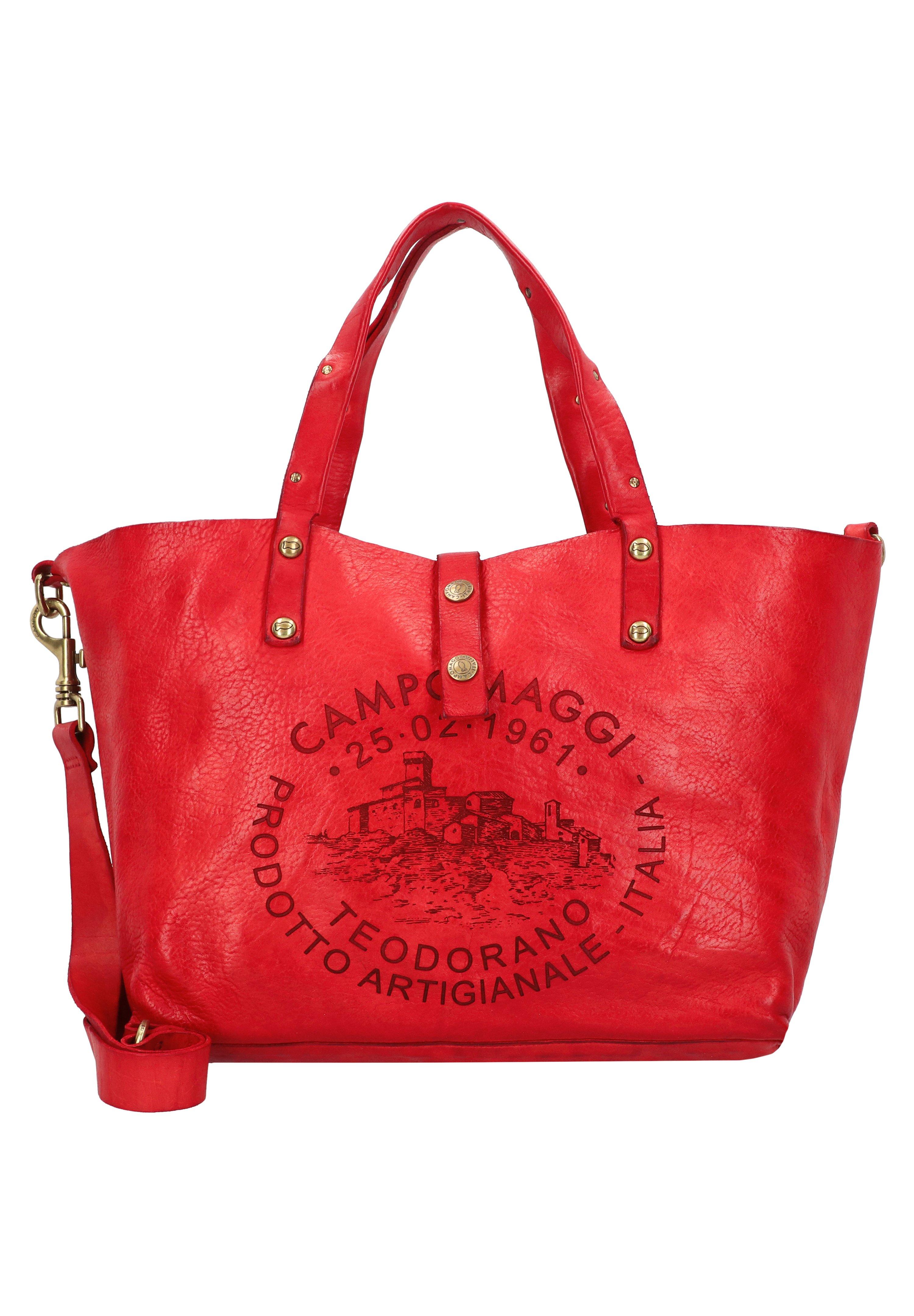 Campomaggi Shopping Bag - Nero/anthrazit