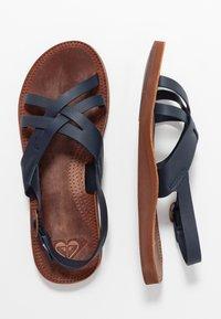Roxy - TONYA  - Sandals - navy - 3