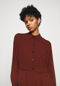 See by Chloé - Shirt dress - sepia brown - 6
