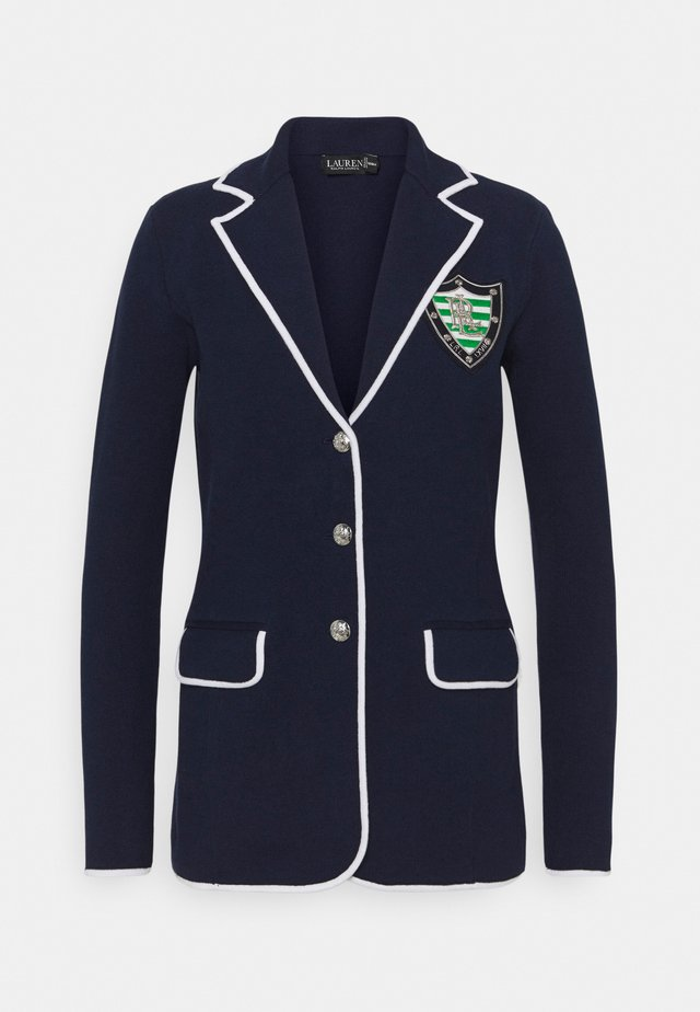 COMBED - Blazer - french navy/white