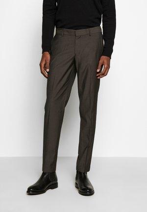 TORD - Pantalón de traje - espresso