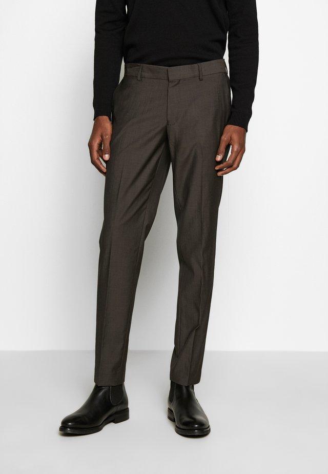 TORD - Pantalon de costume - espresso
