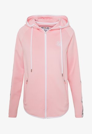 ATHLETE FADE ZIP THROUGH HOODIE - Zip-up hoodie - pink