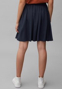 Marc O'Polo DENIM - Pleated skirt - scandinavian blue - 2