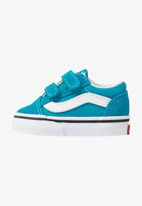 Vans - OLD SKOOL - Zapatillas - caribbean sea/true white - 1