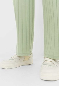 Stradivarius - Trousers - green - 3