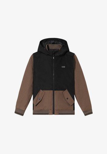 BY WELLS MTE II BOYS - Winter jacket - black/canteen