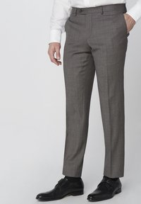 Van Gils - SPLIT BUCK SPLIT - Suit trousers - grey - 0