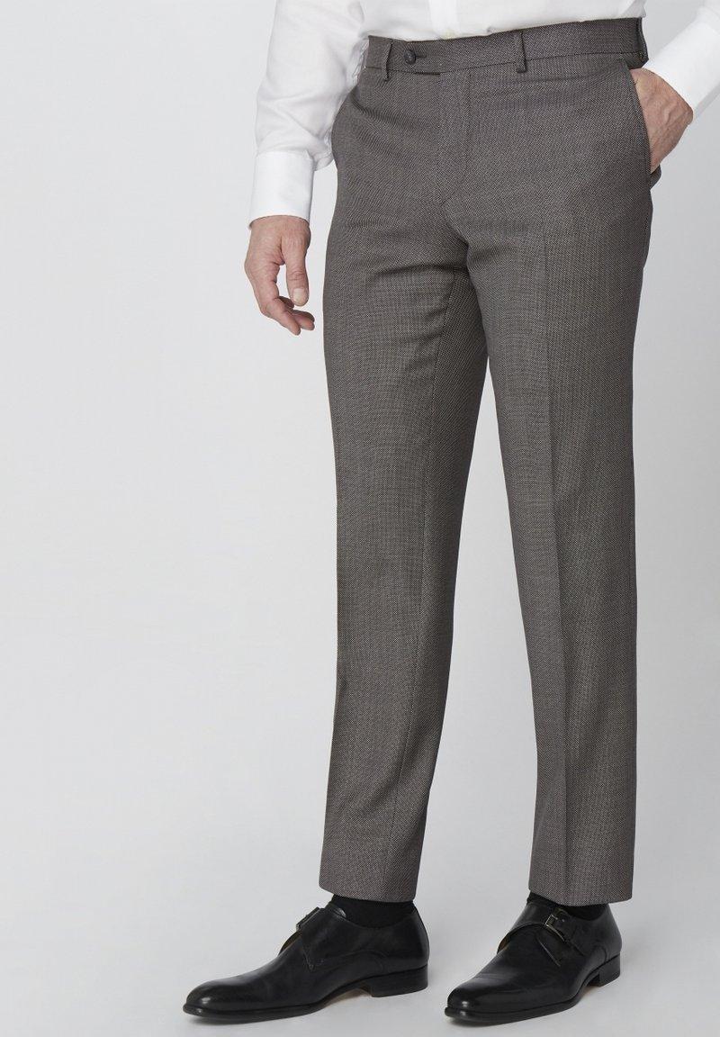 Van Gils - SPLIT BUCK SPLIT - Suit trousers - grey