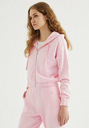 Zip-up sweatshirt - rose shadow