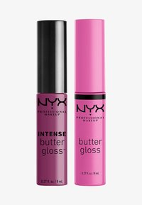 Nyx Professional Makeup - 2ME, LUV ME BUTTER LIP GLOSS DUO-SET - Lip palette - berry pink/neutral pink - 0