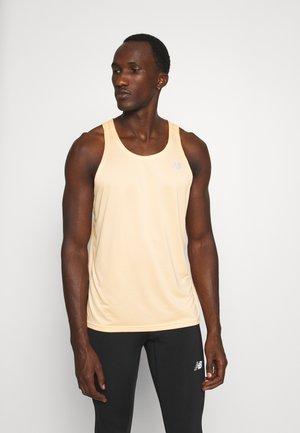 ACCELERATE SINGLET - Sports shirt - light mango