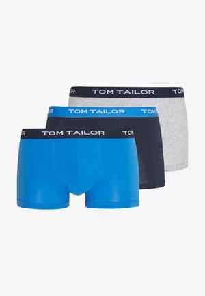 3 PACK - Pants - grey/dark blue/blue