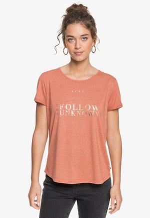 T-shirt print - auburn
