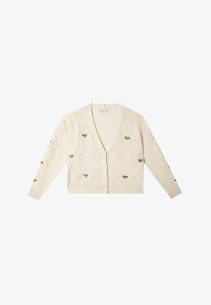 Strikjakke /Cardigans - white