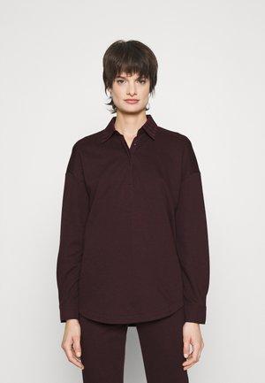 JOAN LABEL - Poloshirt - bordeaux