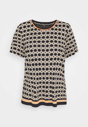 ECOVERO TEE - Print T-shirt - black