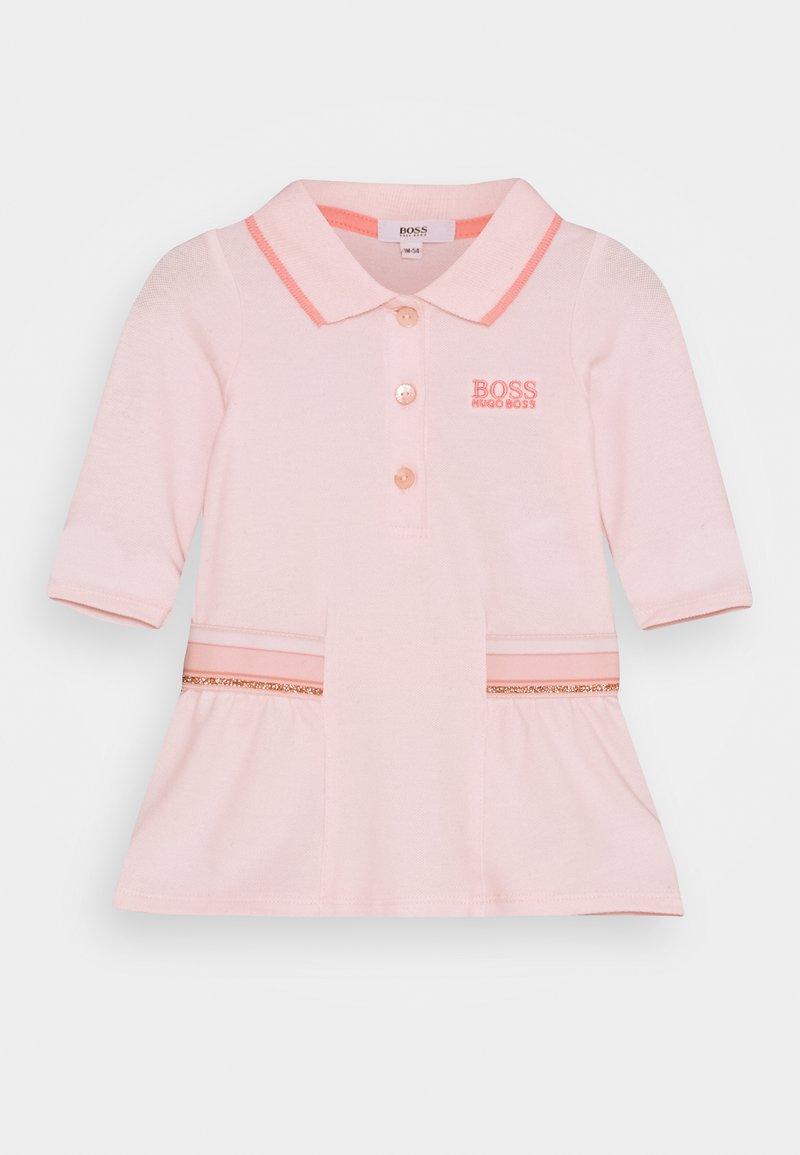 BOSS Kidswear - DRESS BABY - Day dress - pink pale