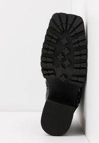Jeffrey Campbell - BENTON - Kovbojské/motorkářské boty - black - 6