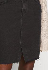 ONLY - ONLEMILY LONG SKIRT MAE - Pencil skirt - black - 4