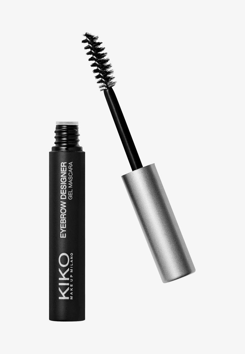 KIKO Milano - EYEBROW DESIGNER GEL MASCARA PARABEN FREE - Eyebrow gel - transparent