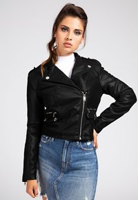 Guess - Giacca in similpelle - schwarz - 0