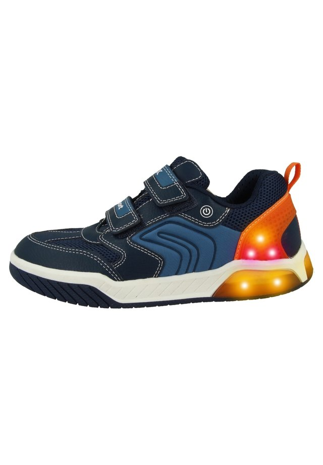 Sneakers laag - navy-orange (j949cd0fe14c0820)