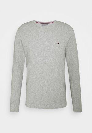 STRETCH LONG SLEEVE TEE - Langærmede T-shirts - light grey heather