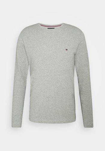 STRETCH LONG SLEEVE TEE - Långärmad tröja - light grey heather