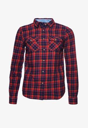 Camicia - red check