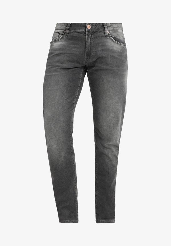 Cars Jeans ANCONA - Jeansy Slim Fit - grey/szary denim Odzież Męska OJYV