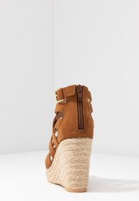 s.Oliver - High heeled sandals - cognac - 5
