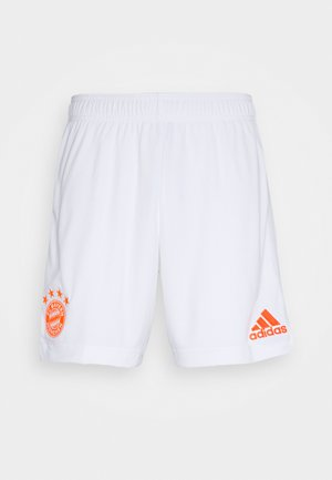 FC BAYERN MUENCHEN SPORTS FOOTBALL SHORTS - Sports shorts - white